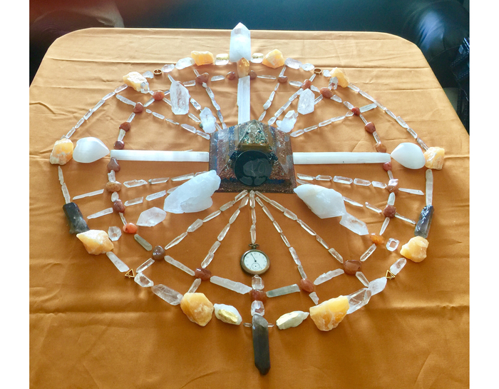 Shamanic Healing Crystal Grid Ceremony